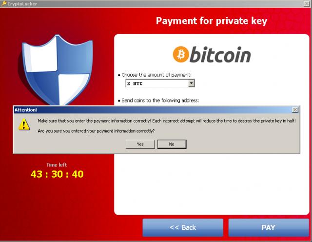 Zagrożenie roku: Cryptolocker snapshot