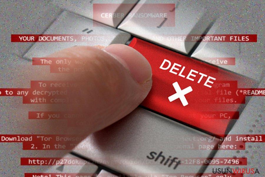 Jak usunąć ransomware