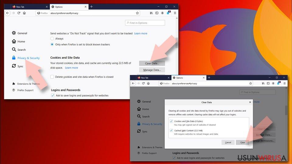 Zresetuj Mozillę Firefox