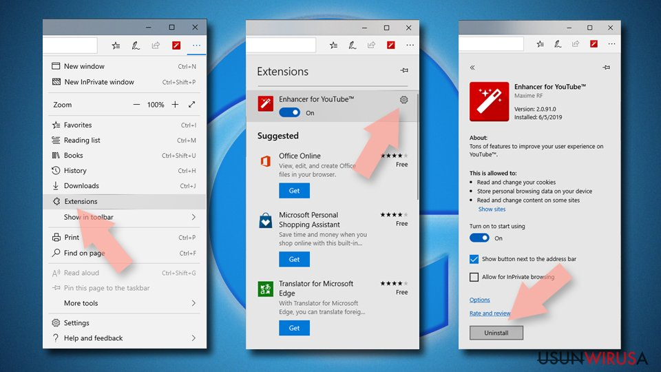 Zresetuj MS Edge/Chromium Edge