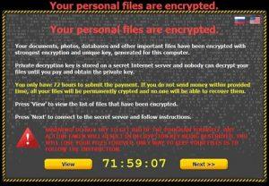 Uwaga!! Zagrożenie ransomware ponownie pojawia się w sieci!