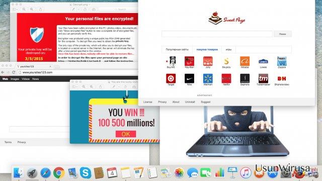 Zagrozenia na ktore powinienes zwracac uwage w tym roku: oprogramowanei adware, robaki przegladarkowe a takze wirusy ransomware snapshot