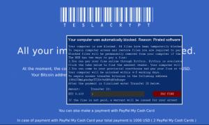 Ransomware: strony iternetowe oraz banki ostatnimi celamin