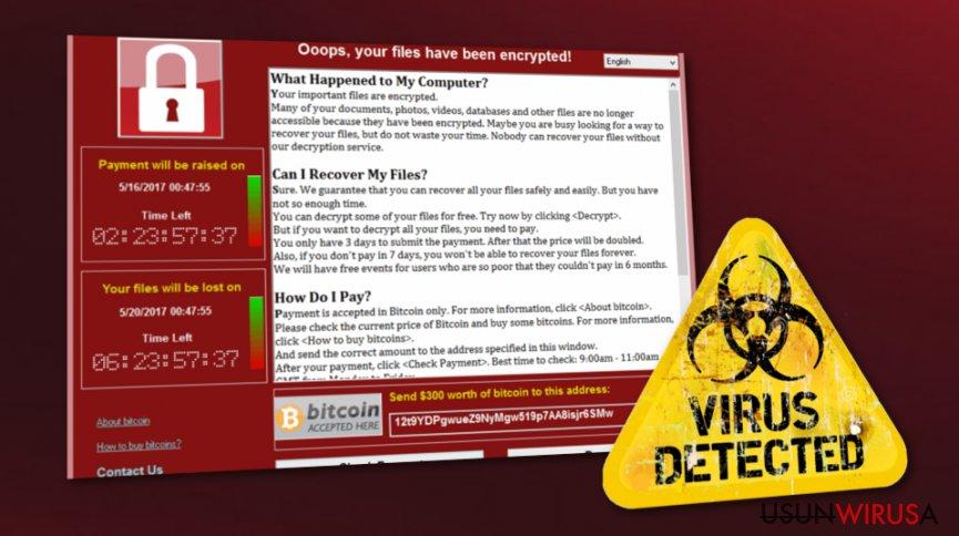 WannaCry żyje. Tysiące użytkowników w niebezpieczeństwie.