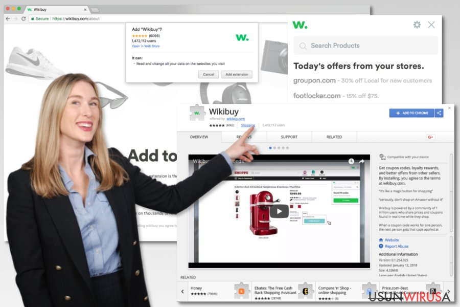 The picture of Wikibuy