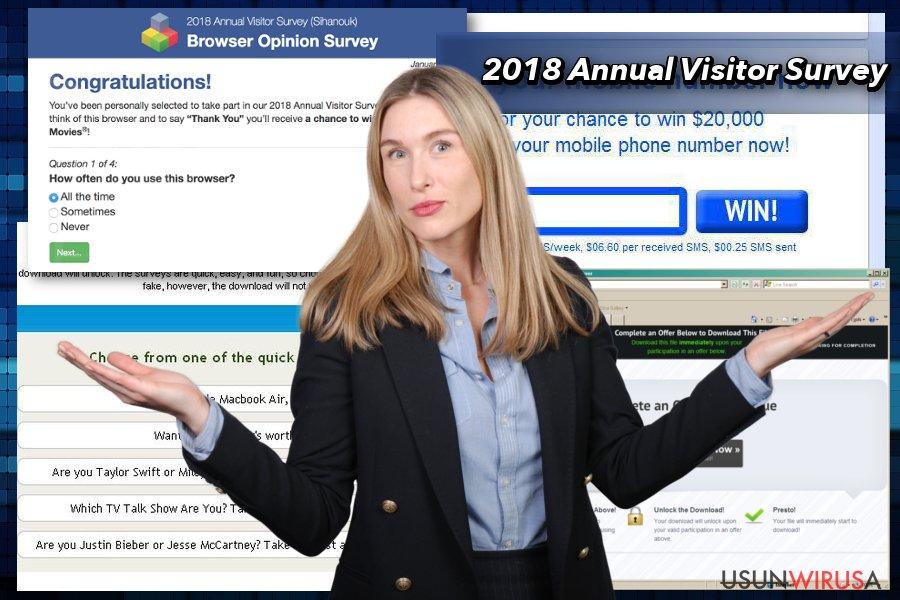 Wyskakujące okienko 2018 Annual Visitor Survey