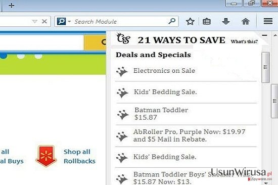 21 Ways To Save Deals and Specials snapshot