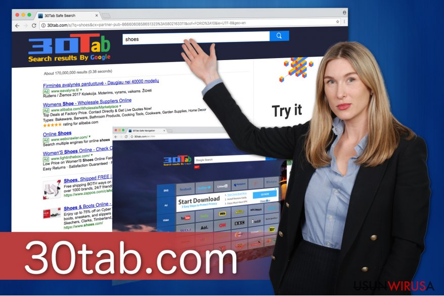 Obrazej prezentujący 30tab.com
