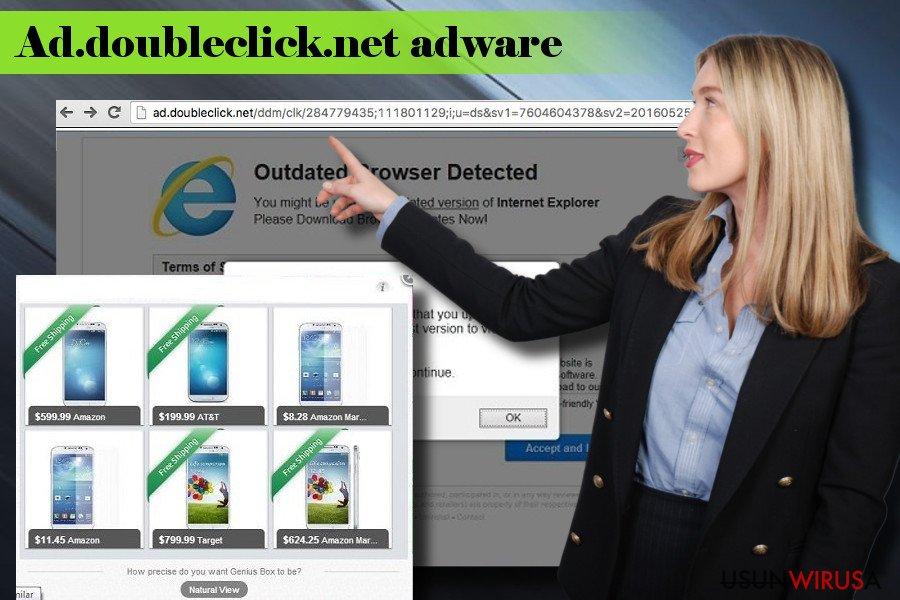 Prezentacja adware Ad.doubleclick.net