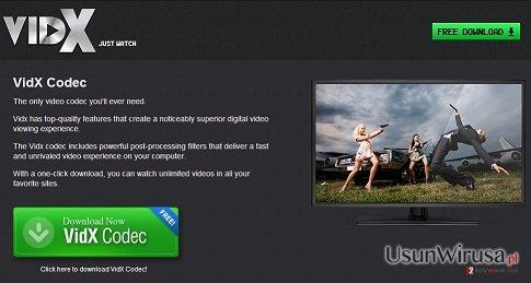 Reklamy Vidx snapshot