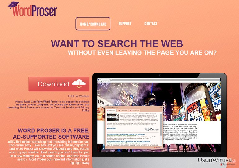 Reklamy WordProser snapshot