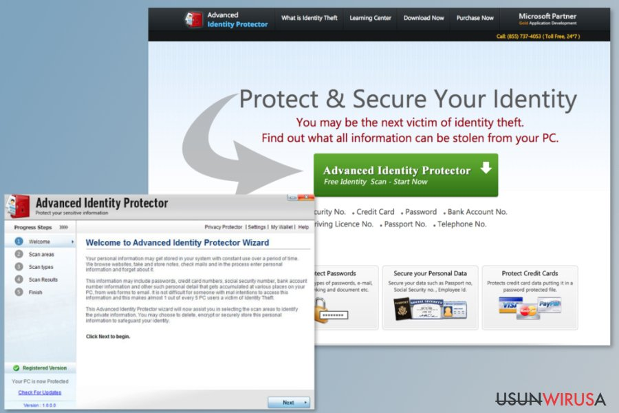 Program Advanced Identity Protector