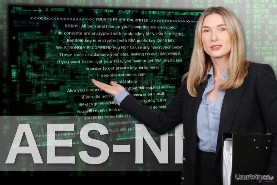 Obraz oprogramowania AES-NI