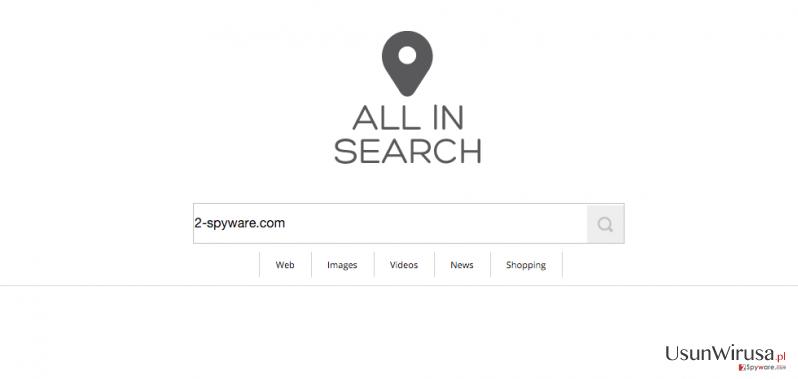 AllInSearch.com virus