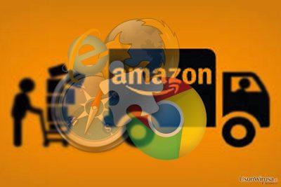 Obraz pokazujacy wirusa Amazon Assistant