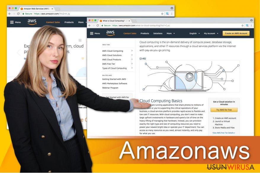 Obrazek przedstawiający Amazonaws