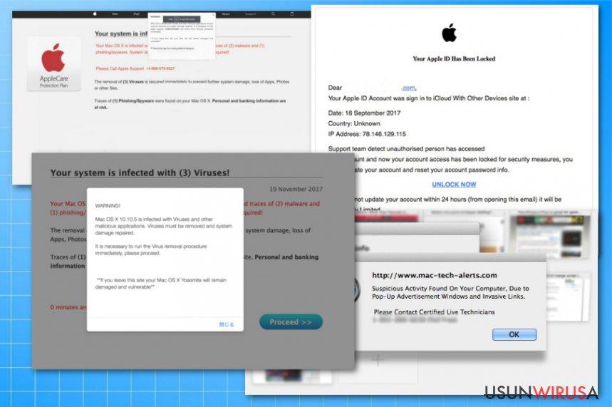 Oszustwa wirusa Apple