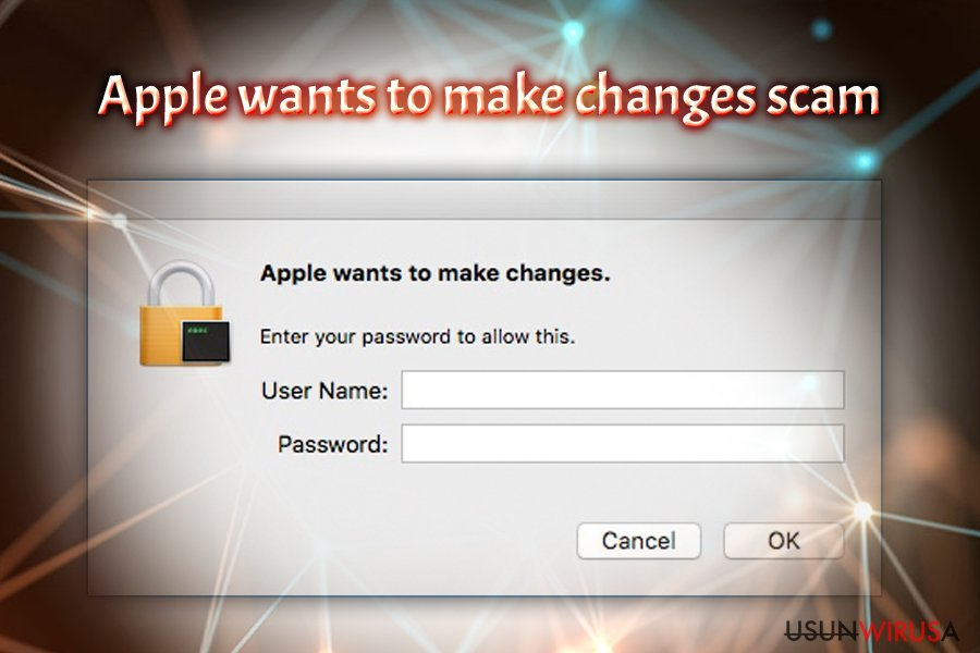 Wirus Apple wants to make changes