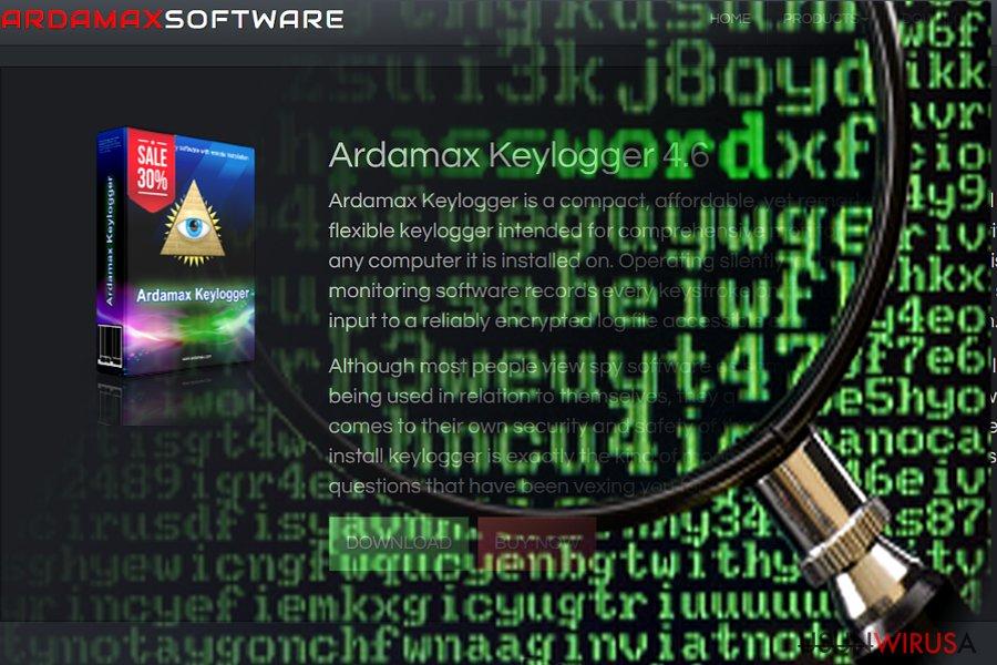 Prezentacja keyloggera Ardamax