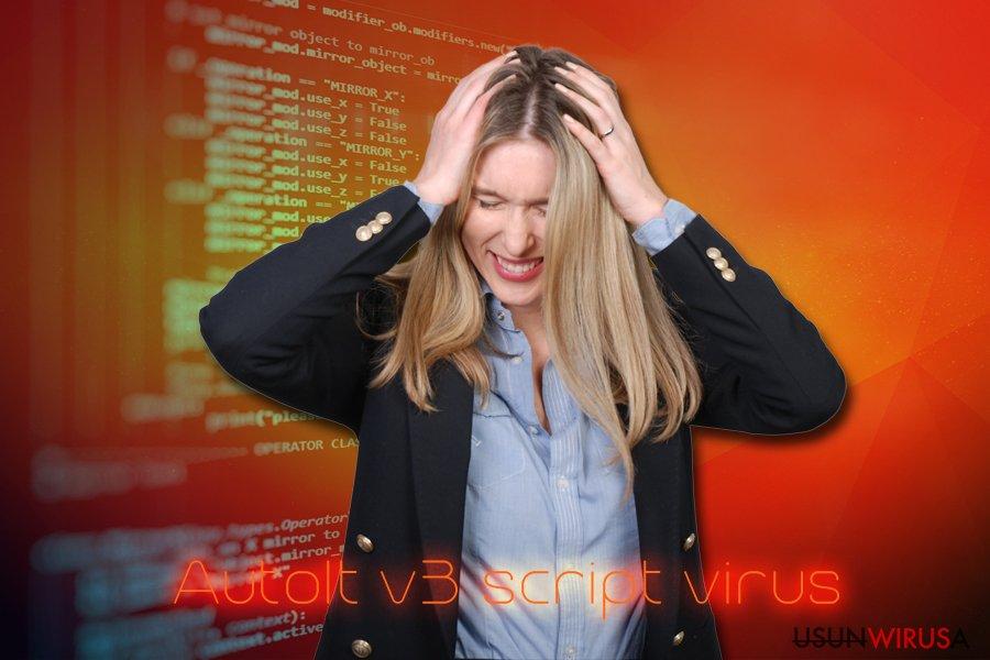 Złośliwe oprogramowanie skryptowe AutoIt v3