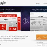 Oprogramowanie reklamowe BeagleBrowser snapshot