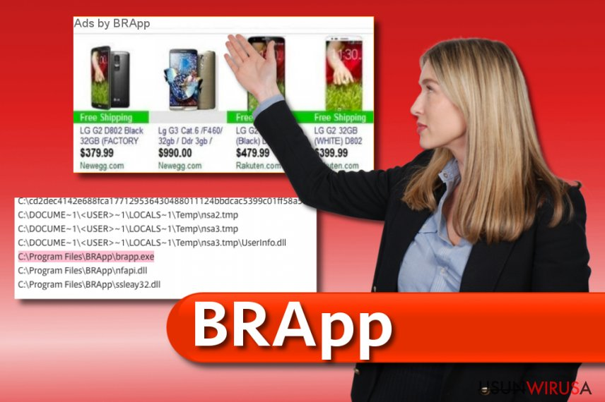 Wirus BRApp snapshot