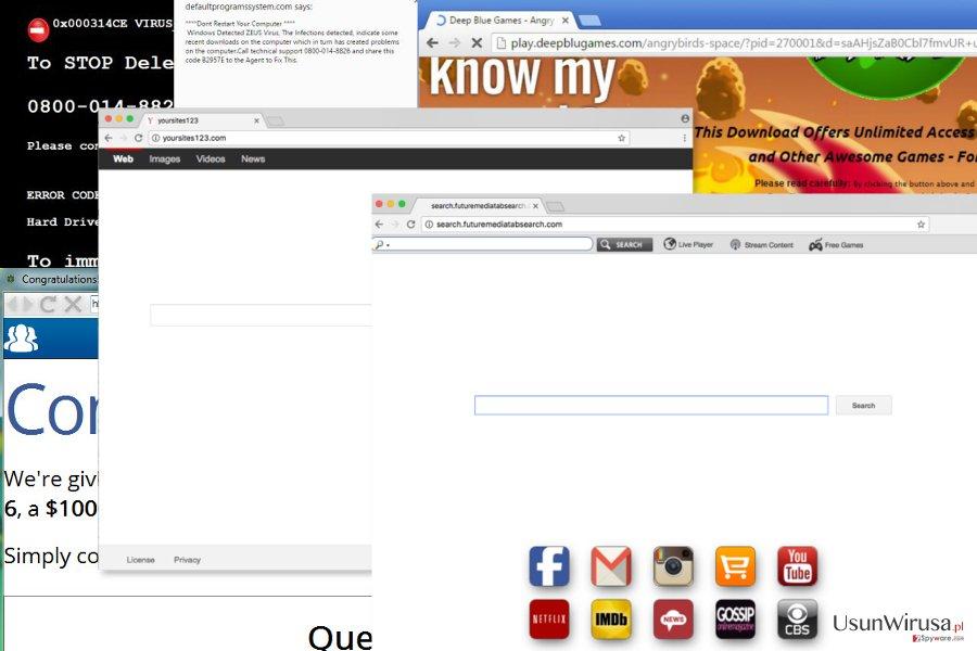 Browser redirect virus