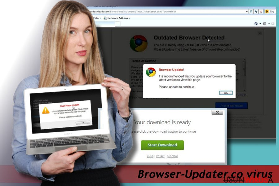 Pop-up Browser-Updater.co snapshot