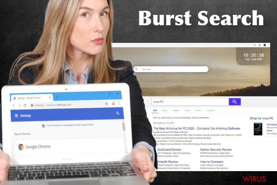 Wirus Burst Search