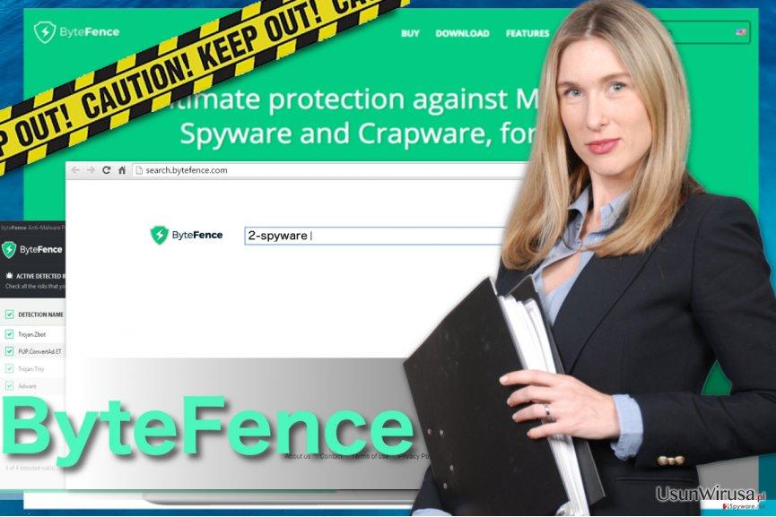 Przekierowania ByteFence snapshot