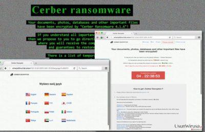 Wirus Cerber 4.1.6 atakuje komputery