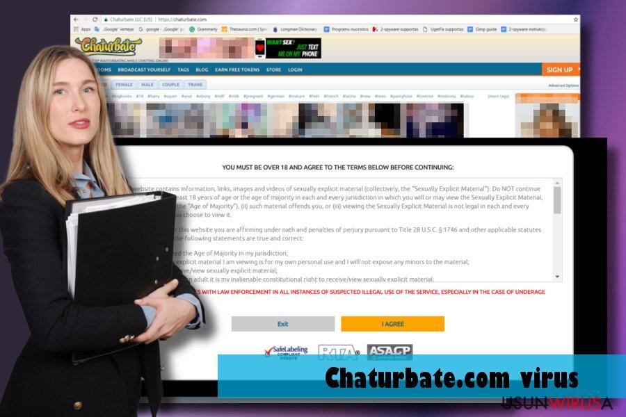 Prezentacja wirusa Chaturbate.com