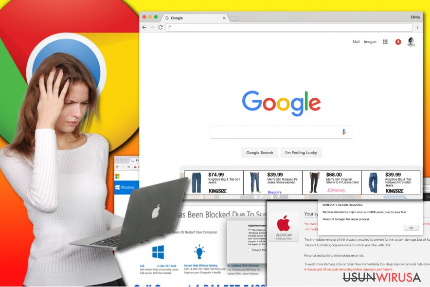 Wirus adware Chrome'a