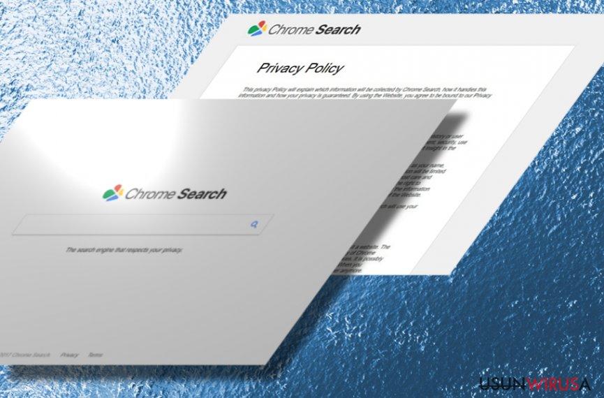 Prezentaja porywacza Chromesearch.today