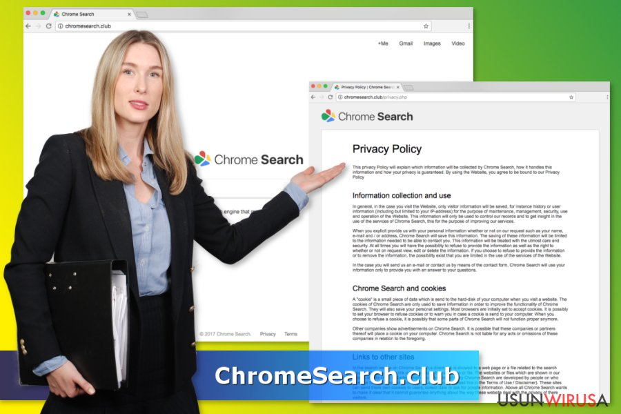 Wirus ChromeSearch.club