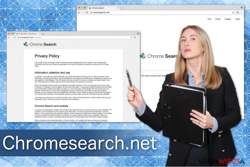 Ilustracja przedstawiająca Chromesearch.net