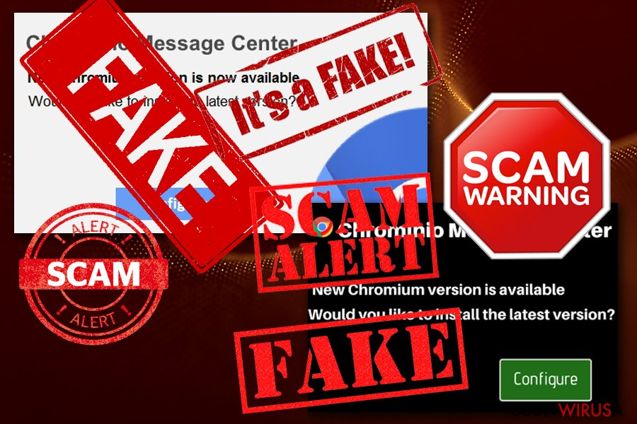 Wirus Chrominio Message Center snapshot