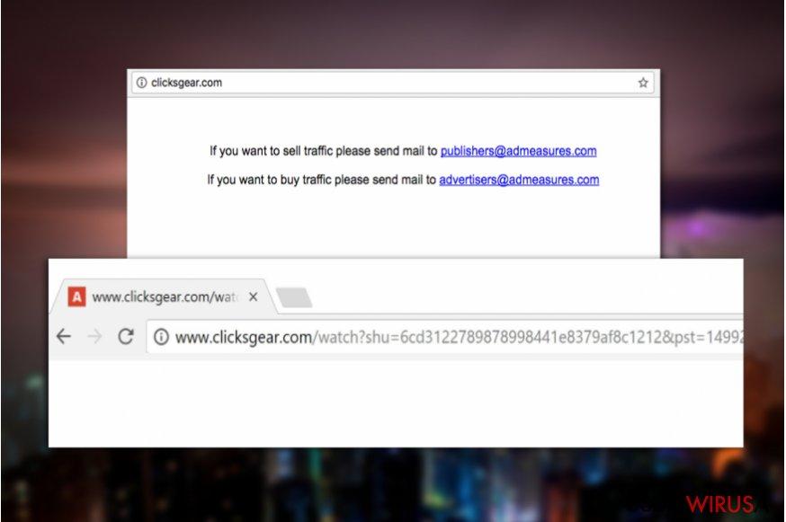 Wirus Clicksgear.com