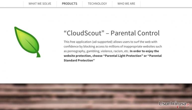 Reklamy CloudScout snapshot