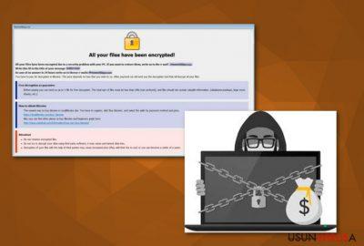 Wirus ransomware Combo