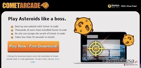 Wirus Comet Arcade snapshot