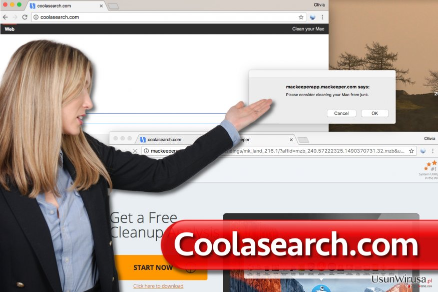 Wirus Coolasearch.com