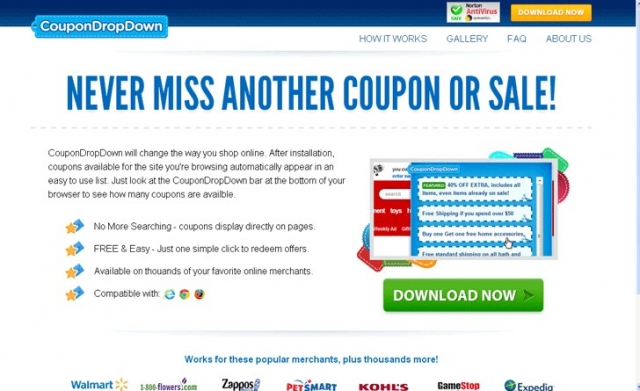 CouponDropDown snapshot