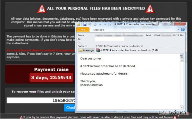 Coverton virus example