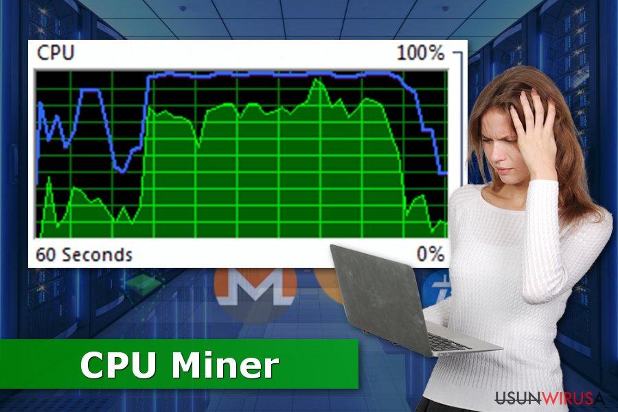 Ilustracja CPU Minera