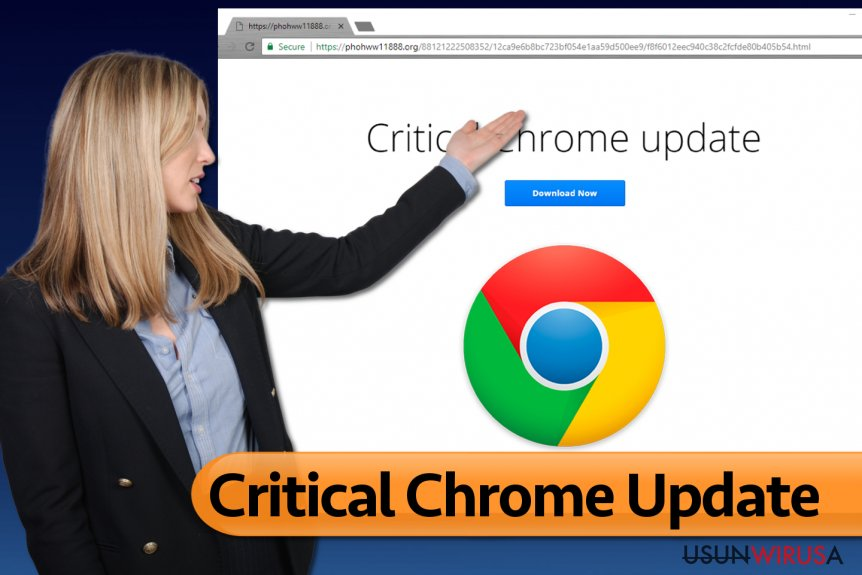 Critical Chrome Update wirus