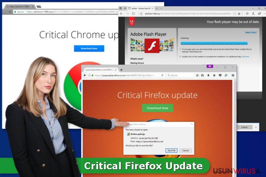 Krytyczna Aktualizacja Firefox wirus