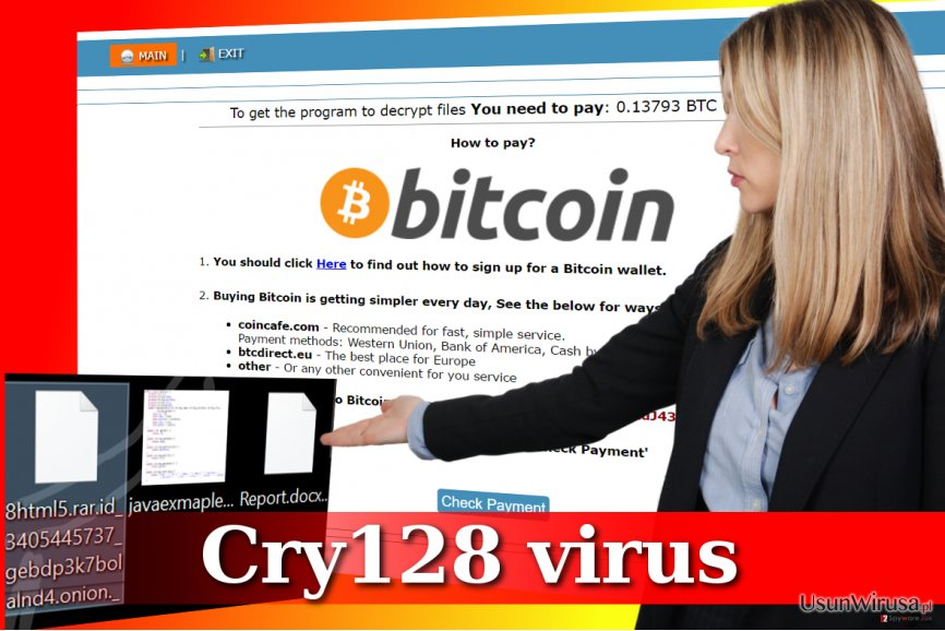 Atak w wykonaniu Cry128