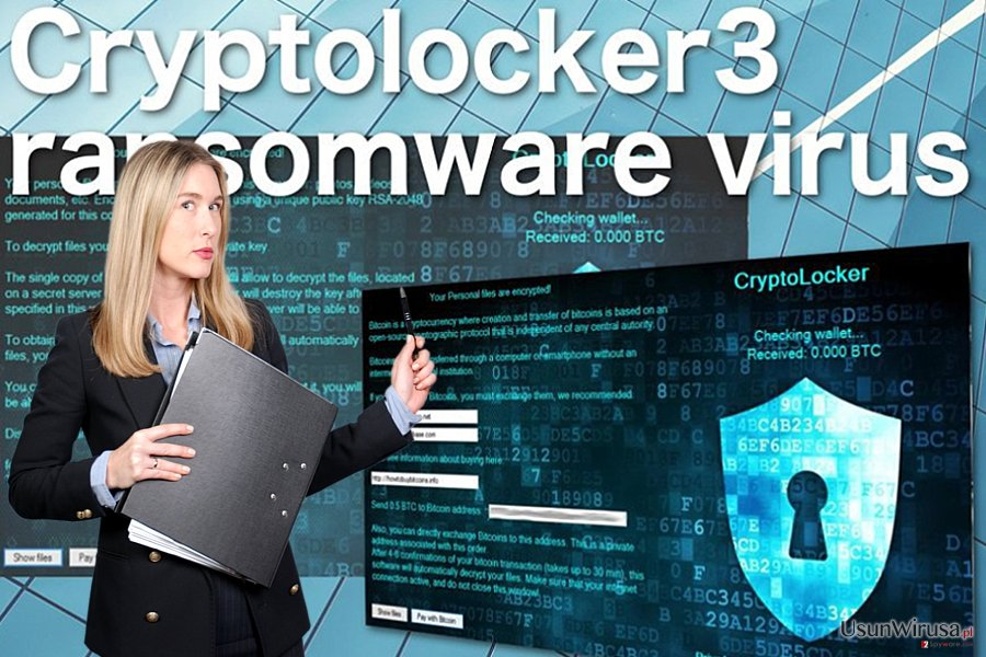 Cryptolocker3 ransomware virus