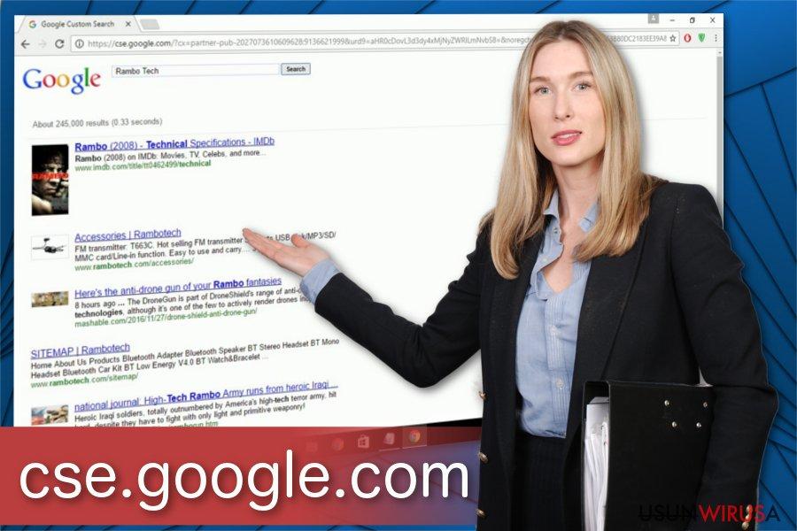 Ilustracja wirusa cse.google.com